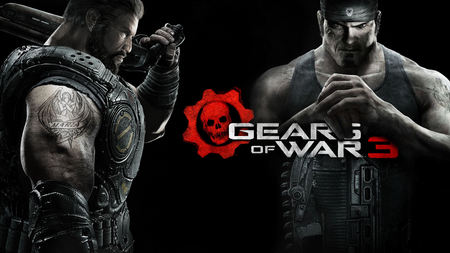 Marcus & Dom - cool, video games, best, angels, red, entertainment, new, cog, games, gears of war 3, iphon 4, jt, macrus dom, dom, marcus finix, linkin park, 3d, fire, gow 3, avatar