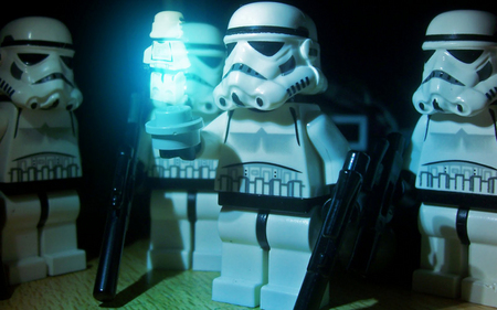Lego - lego, star wars, cool, troops, toys, geek
