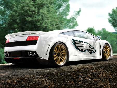 Lamborghini Gallardo - lp 560, car show, photoshop, gallardo, gimp, lamborghini, tuning