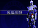 True Blue Iron Man