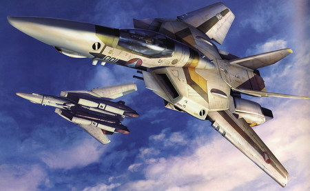 Wingman VF-1 Fighter Macross Zero - vf 1, macross zero, macross, wingman, fighter plane