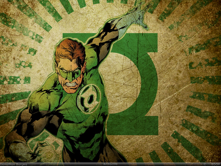 Green Lantern - comic, green lantern, hero, fantasy