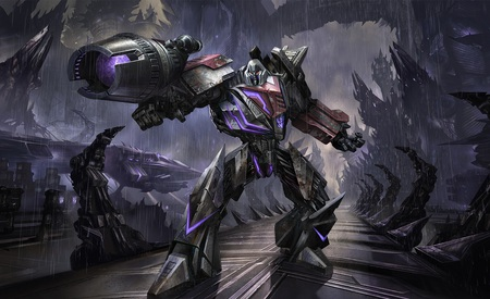 Transformers War for Cybertron, Megatron - transformers war for cybertron, toys, video game, anime