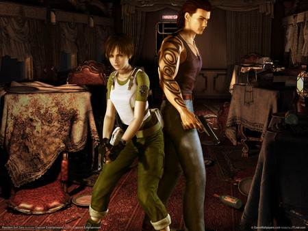 Resident Evil- Zero - shooting, gun, hd, action, game, adenture, resident evil