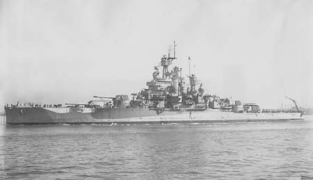 USS Nevada (BB36) - ship, war, battle, nevada