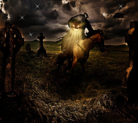 The Headless Horseman~ - sleepy hallow, hessian, halloween, horseman, headless