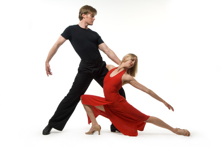 Salsa Dancers - movement, dancing, salsa, flashy