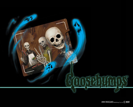 Goosebumps - goosebumps, ghosts, books, stories, skulls
