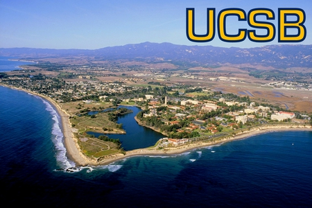 University of California: Santa Barbara - university, uscb, air view, campus, santa barbara