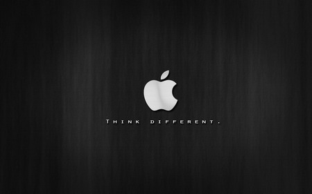 just think diffrent-Apple - computer, black, mac, technology, com, silver, apple, system