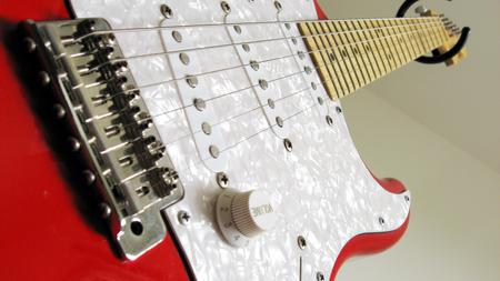 Guitar Macroshot - electric, music, guitar, entertainment