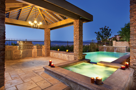 Just Relax! - barbque, pool, spa, gazebo, view