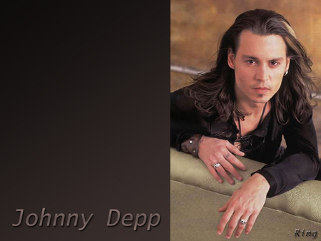 Johnny Depp - actor, male, people, sexy