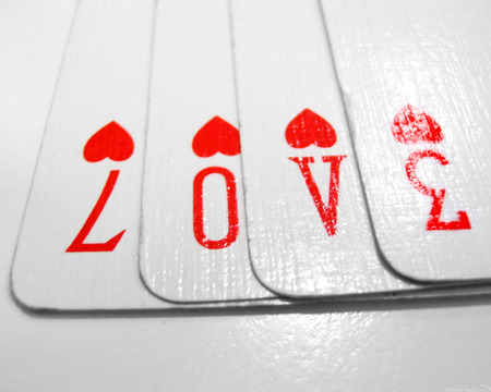 Play With LOVE - love cards, 70v3, love, playing cards, cards