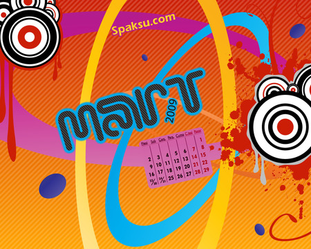 Mart 2009 - march, wallpaper, mart, 2009, spaksu