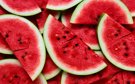 Watermelons - fruit, red, nature, colourful