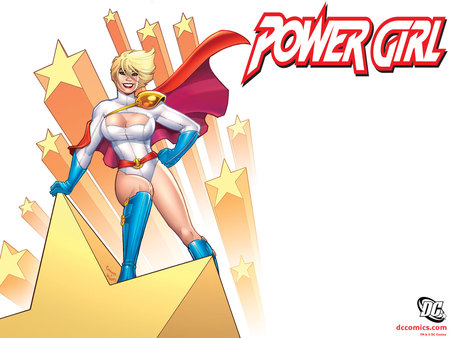 Power Girl - girl, comic, dc, power, fantasy