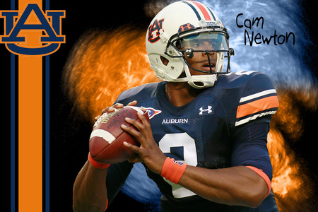 Cam Newton Auburn - cameron, university, 2, cam, ncaa, football, auburn, newton, qb, gators, quarterback