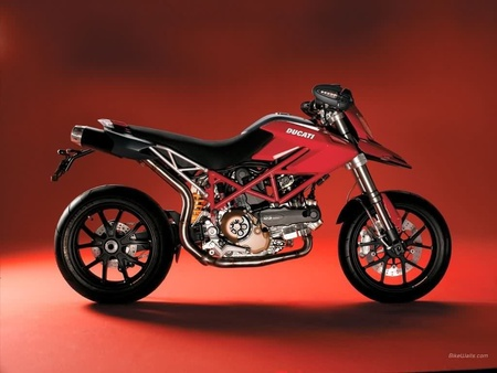 Hypermotard - cross, black, hyper, red, rapid