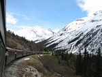 Scenic Trains Ride Through The Yukon