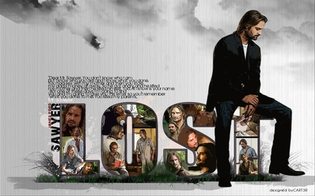 Sawyer is Lost - lost movie, the lost, sawyer, lost
