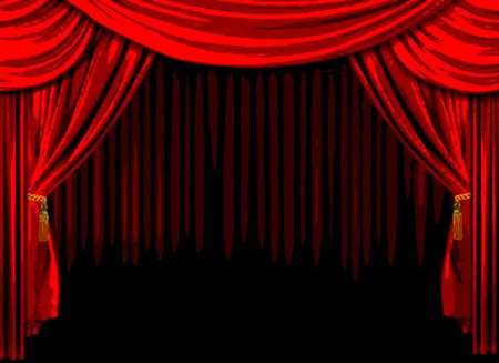 Curtains Ideas curtains background : DARK STAGE CURTAINS - Other & Abstract Background Wallpapers on ...