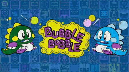Bubble Bobble - bob, bub, classic, bubble bobble, retro game