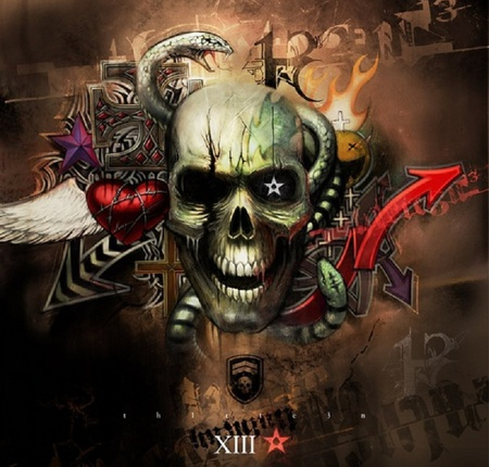 graffiti wallpaper skull hd - photo #22