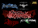 Metal Bands Poster