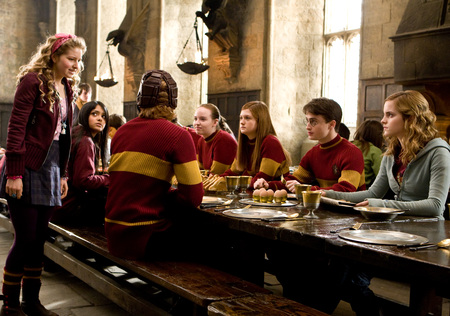Team Gryffindor - harry potter, quidditch, half-blood prince, gryffindor