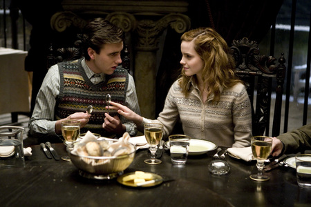 Hermione and Neville - hermione, neville, half-blood prince, harry potter