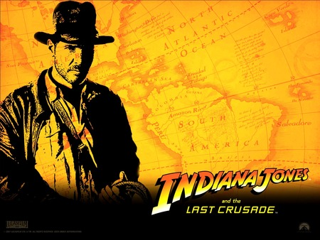 Indiana Jones and the Last Crusade - indiana jones, travel, fiction, family entertainment, mystery, cinema, movies, adventure, romance, action, excitement