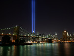Lights represent the WTC - 2005