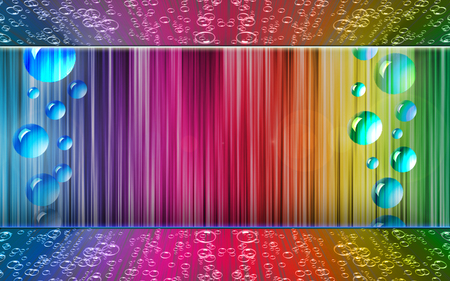 Bubbles & Colors - Fantasy & Abstract Background ...