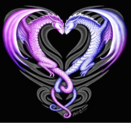 Intertwining Love - Other & Animals Background Wallpapers on ...