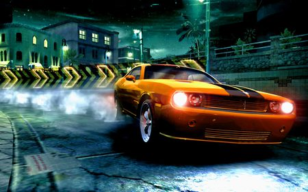 Need For Speed Carbon - road, game, fast, night, sportcar, racing, ea game, need for speed, speed, car