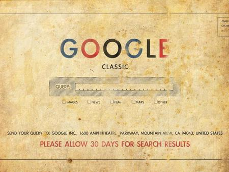 Classic GOOGLE - vintage, old, classic, google