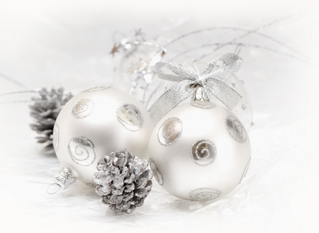 Chrismas ball - happy new year, balls, beautiful, new year, lovely, merry christmas, beauty, magic, christmas, ball, golden, photography, white, gold, holiday