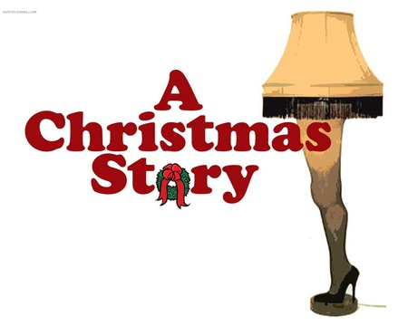 A Christmas Story - leg lamp, holiday, christmas, movies