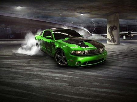 Ford Mustang Gt Drifting Ford Cars Background Wallpapers On