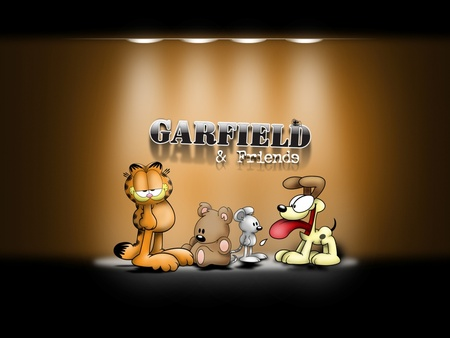 Garfield and Friends - friends, garfield, garfield and friends