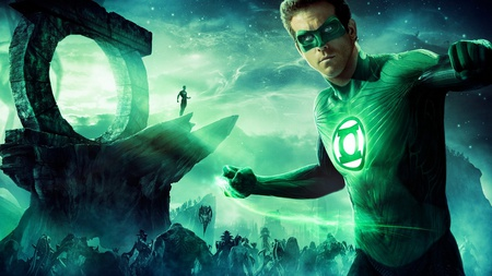 Green Lantern - green lantern, entertainment, movies, ryan reynolds, green, lantern