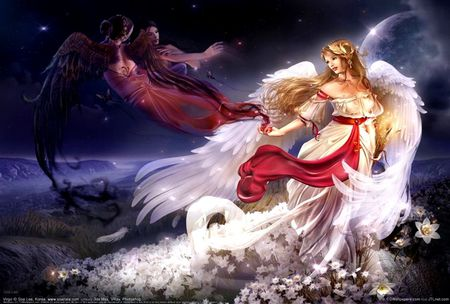 Good Angel - Fantasy & Abstract Background Wallpapers on ...
