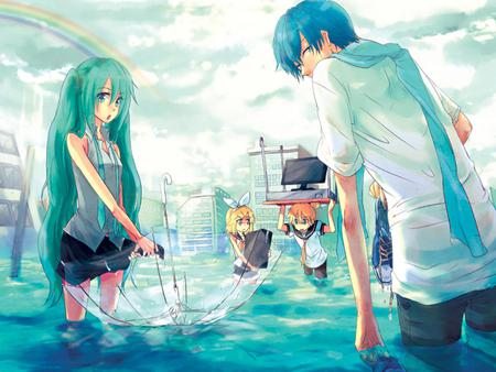 a flood other amp anime background wallpapers on desktop