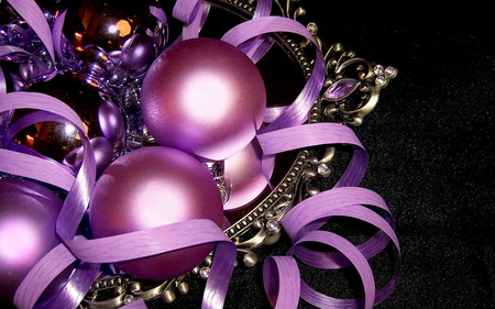 Purple Christmas - Photography & Abstract Background Wallpapers on ...