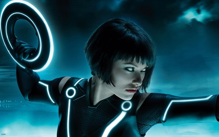 Olivia in Tron Legacy - fantastic, amazing, model, beautiful, tron, babe, pretty, lovely, olivia, sexy, hot, wilde, tron legacy