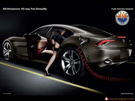 Fast Electric Beauty Girls And Cars Cars Background Wallpapers