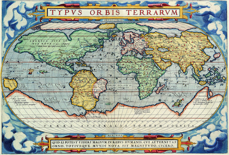 Map From 1587 Hi-Res - hires, map, old, world