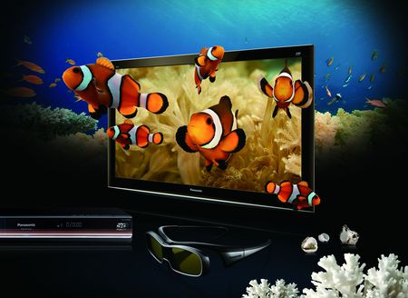 3-D  tv_Panasonic - 3-d, tv, panasonic, fish