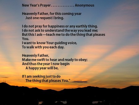 New year prayer sunrise - prayer, sunrise, new year, sunset, quote, holiday